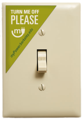 Lightswitch sticker