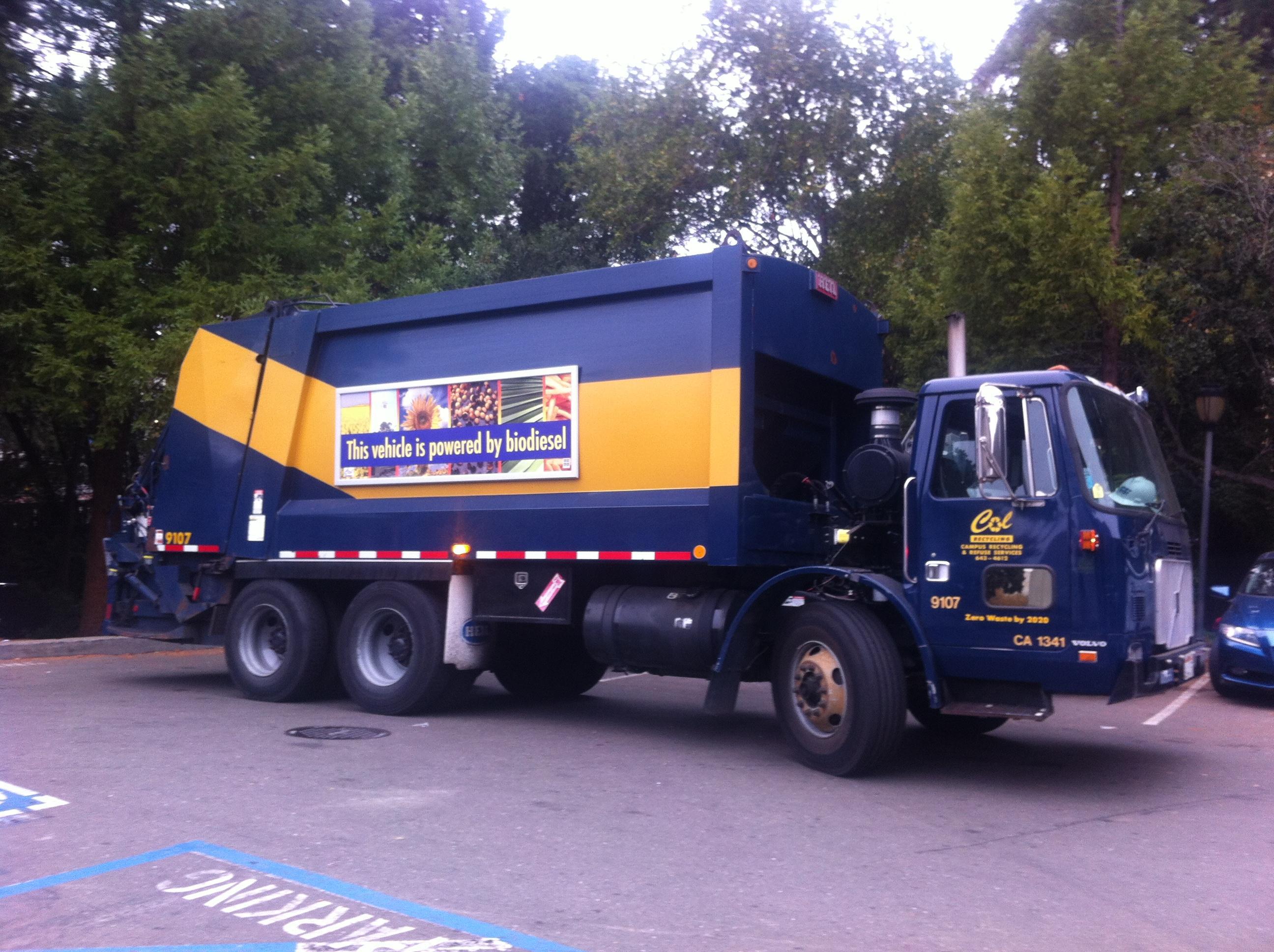 campus fleet biodiesel truck