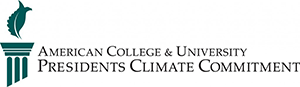 American College and University President's Climate Commitment logo