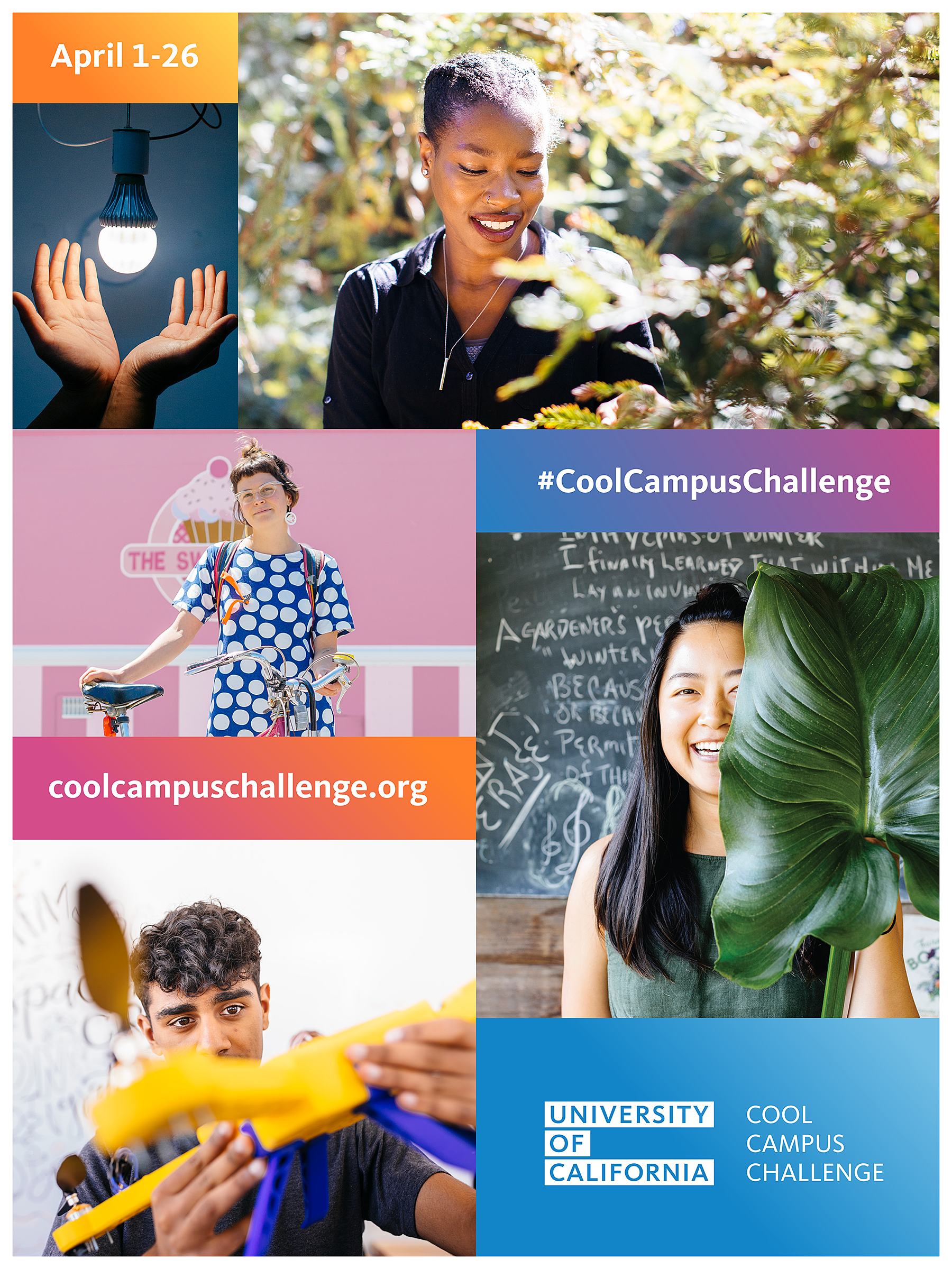 Cool Campus Challenge 2019 poster