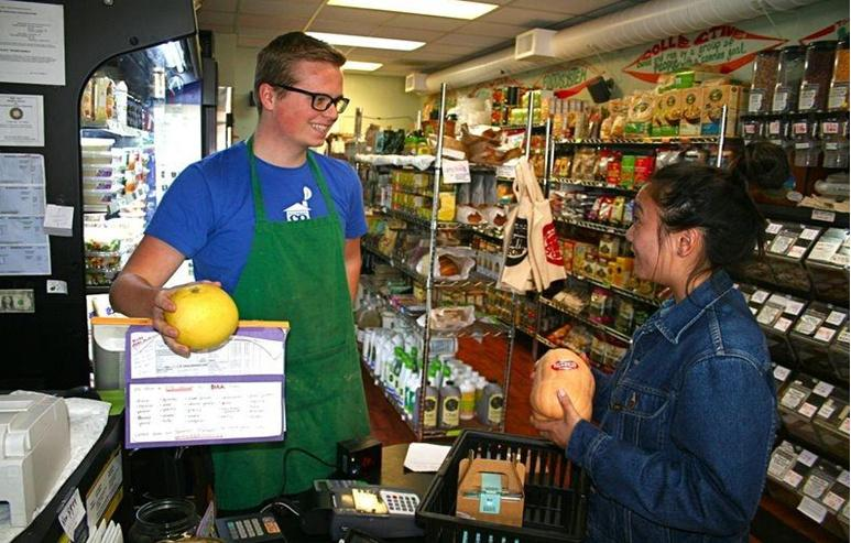 Students at Berkeley's student-run food coop
