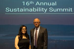 Andrea Luna, UC Berkeley Sustainability Award Winner 2019
