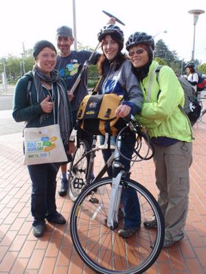 UC Berkeley employees who biked to work