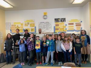 Berkwood Hedge Elementary School Presentation in Spring 2020