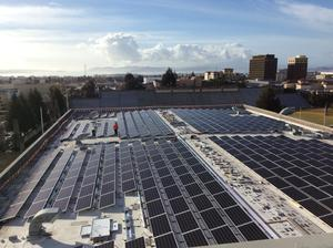 solar panels on RSF