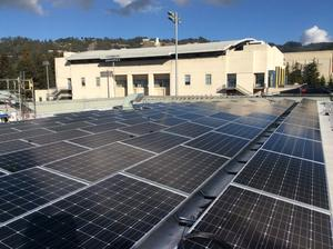 solar panels at RSF (Recreational Sports Facility)