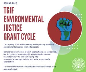 TGIF climate justice graphic