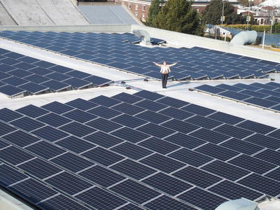 Solar Panels at the RSF Complex