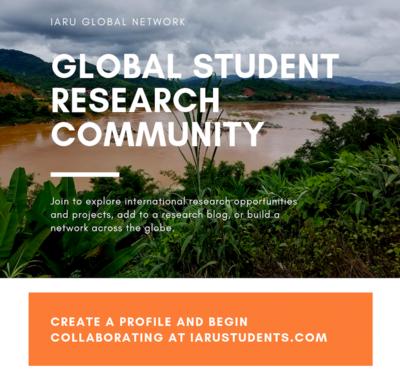 IARU Student Platform Flyer